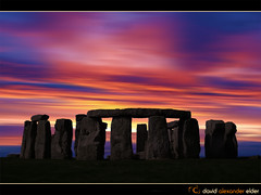 Stonhenge New Age Dawn by David Alexander Elder (David Alexander Elder) Tags: world new morning david art heritage monument digital sunrise dawn site midsummer unesco solstice age elder stonehenge salisbury druid alexander wiltshire prehistoric equinox pagan midsummers morn newage