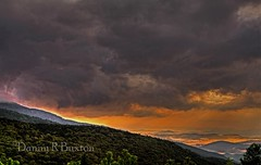 Morning Drama (Danny Buxton) Tags: usa sunlight mist mountains clouds canon landscape nc mark ridge 5d burke ii ridges 2012 blue parkway canon light north carolina mygearandme mygearandmepremium ringexcellence blinkagain flickrstruereflection1 flickrstruereflection2 streaks 100mm400mm