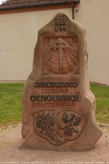 Gengenbach - Der Jakobusweg fhrt an der Jakobskapelle vorbei (RegioKonzept) Tags: artist kunst gengenbach kinzigtal spaziergangimweinberg