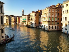Venice during the golden hour (mathowie) Tags: