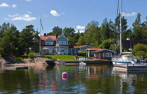 homes waterfront july 2012 vaxholm waterfronts säby svartgarn