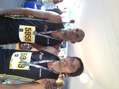 """Jurgean and Marius after the 10km • <a style=""""font-size:0.8em;"""" href=""""https://www.flickr.com/photos/64883702@N04/7499529914/"""" target=""""_blank"""">View on Flickr</a>"""