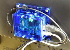 VESA Mount installed (Solarbotics) Tags: game video mount raspberry shield safe mm arduino vesa addon 100x100 75x75 baseplate 60103 60095 solarbotics freeduino gameduino