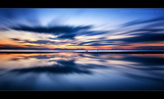 Golden Rule (scott masterton) Tags: light sunset reflection scott scotland long exposure pentax sigma east wreck lothian fascinating masterton longniddry nd400 vle 1750mm ndx400 k200d