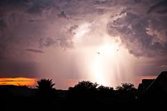 Thunderstorm (msymonds) Tags: arizona rain night canon tucson vail thunderstorm lightning thunder flickrchallengegroup