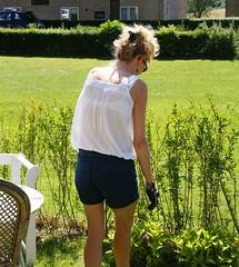 Gardening (os♥to) Tags: denmark europa europe sony zealand tina dslr scandinavia danmark a300 sjælland デンマーク osto alpha300 os♥to july2012