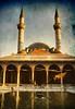 Takiyyah Al-Sulaymaniyyeh mosque . Damascus Syria . 1995