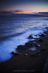 Tide (Karl Ruston) Tags: longexposure sunset sea beach water sand dorset westbay southcoasttide