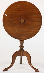 80. Inlaid Tilt Top Table