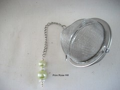 green pearl tea 2 (Prim*Rose*Hill) Tags: tea infuser teaball
