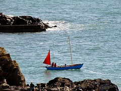 Setting off from Portpatrick (Jani Helle) Tags: scotland boat portpatrick dumfriesandgalloway sailingboat portphdraig september2011