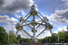 Atomium (HDR) (Stephan Neven) Tags: brussels iron expo belgium belgie crystal bruxelles brussel atomium hdr expo58 mygearandmepremium