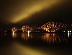 THE BRIDGE (GOLDEN) (kenny barker) Tags: bridge landscape forthbridge queensferry landscapeuk panasoniclumixgf1 kennybarker