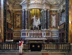 Bernini, Ecstasy of Saint Teresa with Beth, Cornaro Chapel, Santa Maria della Vittoria