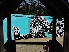 Krayon _detail (.krayon) Tags: street streetart art boys wall fun is waiting hard wallart guys have pixel future advice 8bit now barile ragazzini simpatiche canaglie cantinando krayon