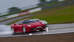 Ferrari Maserati Racing Days 2012 | Ferrari F430 (wolnerchris) Tags: wet rain canon photography eos is skne sweden mark iii christopher ferrari racing days 1d f l mm 70200 ef f4 maserati 2012 430 knutstorp autoropa mygearandme wlnerhanssen