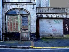 (Jean-Luc Léopoldi) Tags: door house shutters porte quaint maison derelict façade volets vétuste