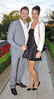 Brian McFadden and Vogue Williams, at the 13th Marie Keating Foundation Celebrity Golf dinner at the K