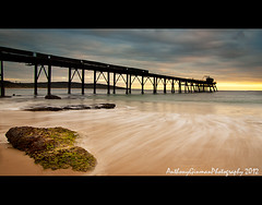 The Other Side (AnthonyGinmanPhotography) Tags: sunrise flow jetty catherinehillbay