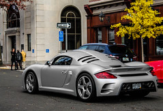 RUF CTR-3 from Colorado (Rivitography) Tags: lauren car canon silver rebel connecticut fast exotic adobe t3 expensive rare ralph supercar horsepower ruf lightroom newcanaan 2013 ctr3 rivitography