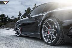 Vorsteiner Porsche 997 V-RT Edition Carrera Turbo (Vorsteiner) Tags: black sport vrt 911 v turbo porsche piece rt multi forged carrera 997 vorsteiner vsm310