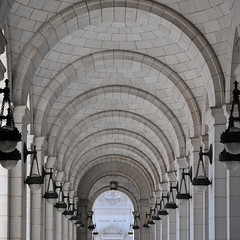 Colonnade Archway (MJMPhoto II) Tags: architecture dc washington archway