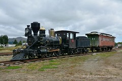 Mandeville Steam Train, New Zealand (flyingkiwigirl) Tags: train steam andeville
