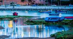 Le Bouregreg  Rabat - Morroco. (Bouhsina Photography) Tags: blue marina canon river boat rivire bleu morocco maroc marruecos barque rabat oued sal bouhsina ef7020028ii 5diii bourgreg bouhsinaphotography