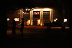 IMG_7353 (unnamedcrewmember) Tags: plaza night dark am theater outdoor stage platz linden hannover cabaret tak dunkelheit jongleur bhne kabarett kchengarten