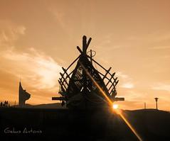 20151115_165301 (antonisgekas) Tags: sunset sea cloud sunrise ship greece argo volos