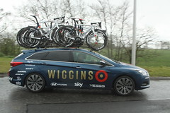 Team Wiggins (Steve Dawson.) Tags: road sky cold wet bike race canon eos is team yorkshire cycle tdy april spare usm ef28135mm damp 29th rapha uci pinarello wiggins 2016 f3556 50d ef28135mmf3556isusm canoneos50d teamcars tourdeyorkshire harswell
