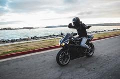 DSC_7064 (Steven Lenoir) Tags: ocean sea marina bay sandiego sd yamaha r1 sportbike harborisland dab superbike supersport bayfront streetbike 1000cc yamahar1 dabbing rollingshot teamyamaha
