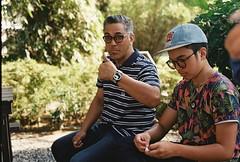 (golfpunkgirl) Tags: travel family holiday hot film canon tour walk philippines 400 manila canonslr carlosceldran lomographyfilm negfilm