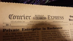 Courier Buffalo Express 1958 September (tonyolm) Tags: news vintage paper buffalo september 1958 express courier