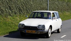 Citron GS Break 1978 (XBXG) Tags: auto old france holland classic netherlands car mobile vintage french automobile break nederland citron voiture 1978 frankrijk paysbas gs ancienne 2016 vijfhuizen franaise citromobile citro citrongs 04lbd1