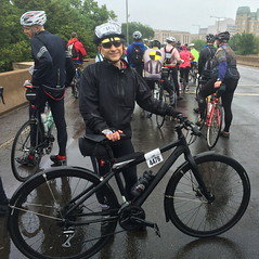 Ted in DCBR 2016 (Mr.TinDC) Tags: ted me rain bike bicycle washingtondc dc rainy mrt cannondale raining badboy mrtindc dcbr dcbikeride dcbr2016