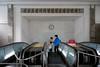 Station Puhŭng - Métro de Pyongyang (jonathanung@ymail.com) Tags: subway lumix asia metro korea asie nord northkorea pyongyang corée dprk cm1 koryo coréedunord insidenorthkorea républiquepopulairedémocratiquedecorée rpdc puhŭng lumixcm1