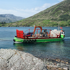Glenelg Ferry (Tom Willett) Tags: skye ferry scotland highlands isleofskye glenelg ballachulish kylerhea turntableferry