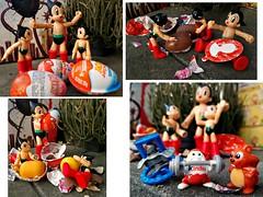 A Doppelgnger Hatching (John 3000) Tags: anime collage toys actionfigure robot egg joy manga capsule kinder surprise superhero juguetes astroboy sorpresa doppelgnger unwrapping hatching cartooncharacters mightyatom  toycrewbuddies