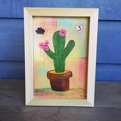 Cactus flower.. a desert painting ('fathomfive) Tags: saguaro joshuatree yuccavalley cacti succulents sanpedrocactus wonderboomart savannasnow