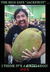 Godzilla egg (Flagman00) Tags: egg godzilla meme heb jackfruit
