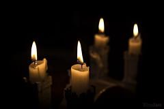 Cuatro velas (kinojam) Tags: canon dark four cuatro fire kino candle darkness 4 fuego vela oscuridad oscuro canon6d kinojam