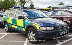 Delta Medical Services Volvo XC70 Y552 OHR (policest1100) Tags: volvo delta medical ohr services xc70 y552