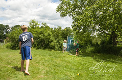 Time for three man baseball (grilljam) Tags: summer ewan ranier cato treeclimbing 65yrs june2016 swangofarm