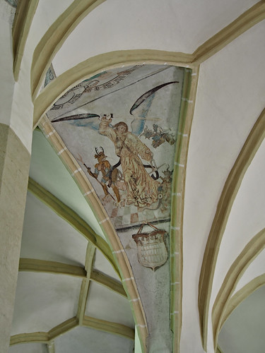 Mural on the Church on the Hill
