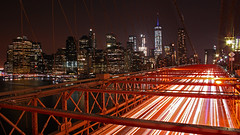 Red Wine (stephenb19) Tags: new york city brooklyn bridge manhattan big apple nyc night evening cities urban industrial metropolis heartbeat light trails trail traffic modern cityscape skyline