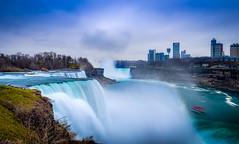 """""""Falling Beauty"""" (Mahir Rafi) Tags: waterfall falls niagara canada toronto longexposure landscape travel cloud"""