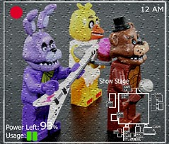 Lego Five Nights At Freddy's Show Stage (XxDeadmanzZ) Tags: show lego five stage nights freddys at fnaf