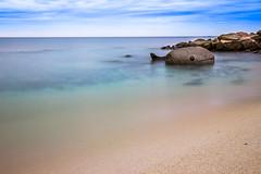 Stony Fish (thethomsn) Tags: stony fish sea ocean longexposure beach sand clear travel nature seascape beachscape seaside canon thethomsn smooth outdoors italy sardinia