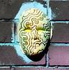 Newtown July 2016 (janie.d (urban burbler)) Tags: streetart west photography graffiti mask random dirty inner crisp walls
